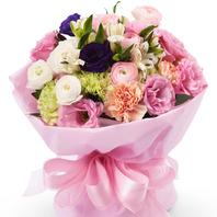 란나큐러스혼합꽃다발